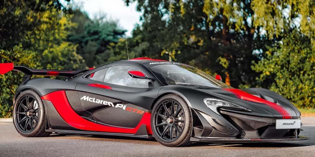 фото McLaren P1 GTR