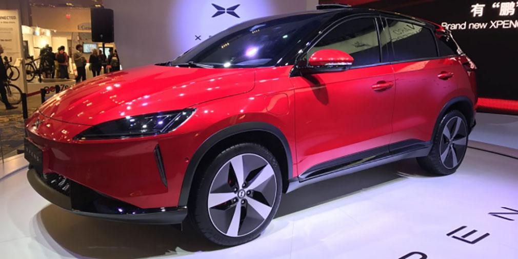 фото Xpeng Motors