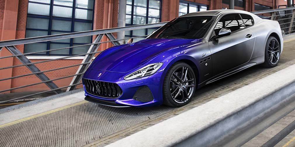 фото Maserati в трех цветах